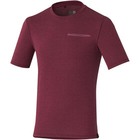 Shimano Transit T-Shirt Herrer rød